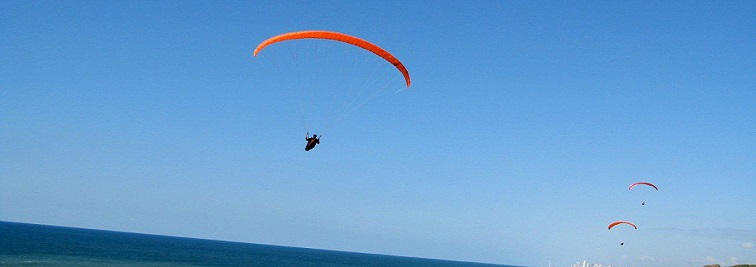 Paragliding in Tampa